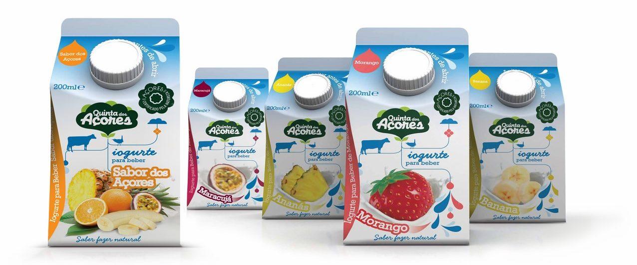Azores yogurts - Quinta dos Açores, Terceira Island, Azores