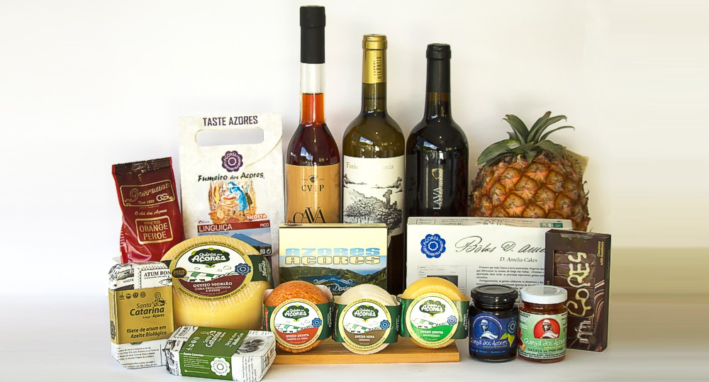 Quinta dos Açores Market - Typical products of the Azores