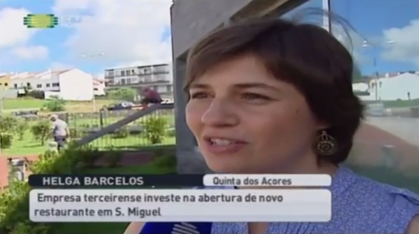 Quinta dos Açores inauguration on the island of sao miguel