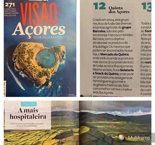 Visão guia de sugestões para comer, dormir e fazer nas nove ilhas dos Açores