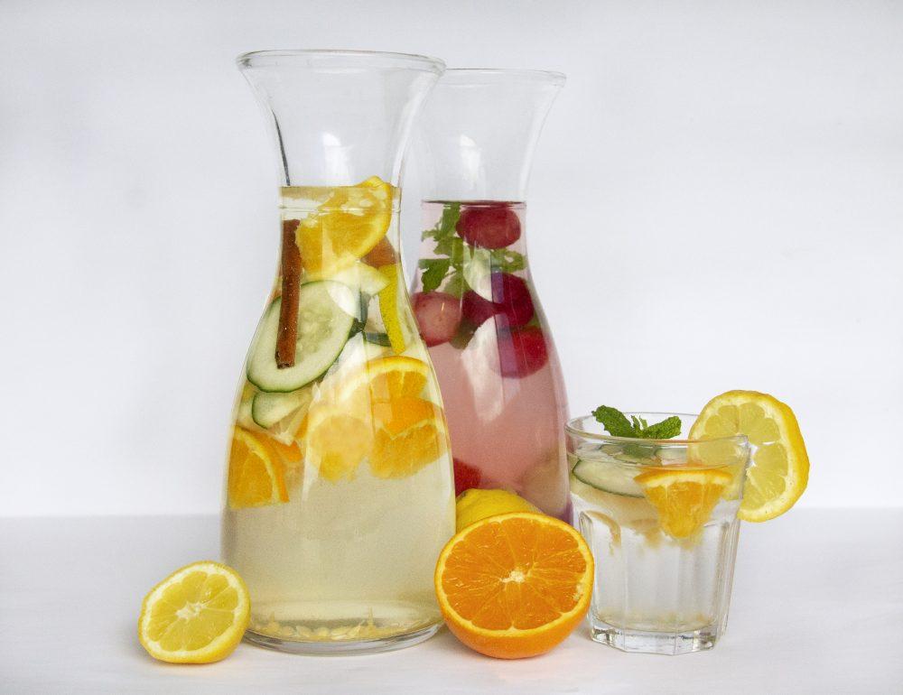 Águas aromatizadas – Uma opção refrescante e saudável para o Verão! CNQA Quinta dos Açores