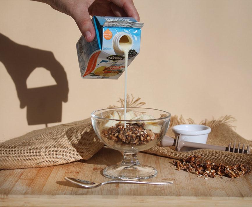 receita de granola saudável