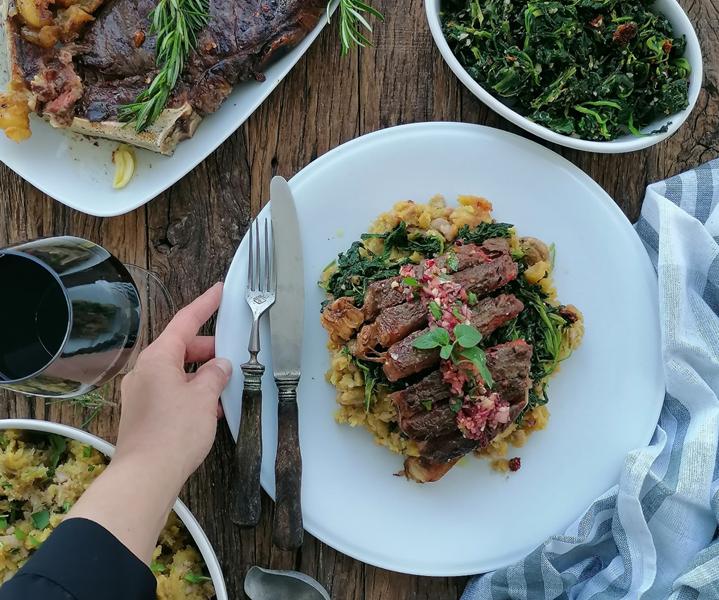 strip steak da Quinta dos Açores carne maturada