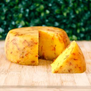 queijo com alho e açaflor