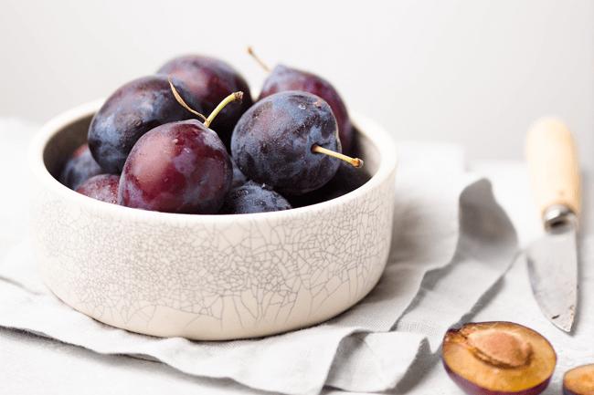 ameixas fruta de verao