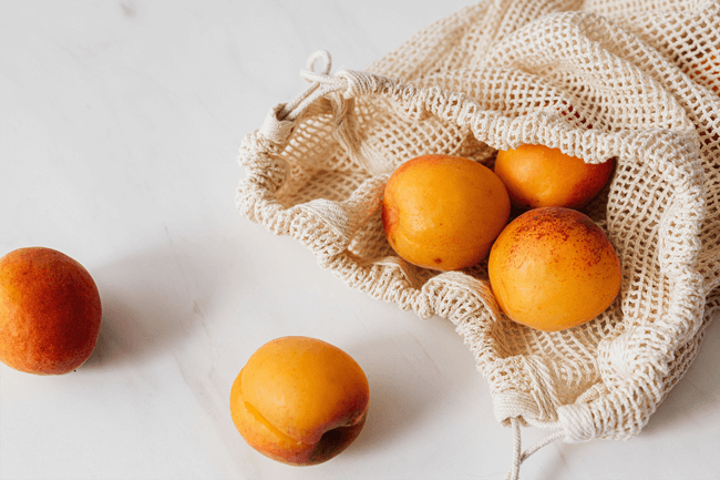 pessego e nectarina fruta de verao