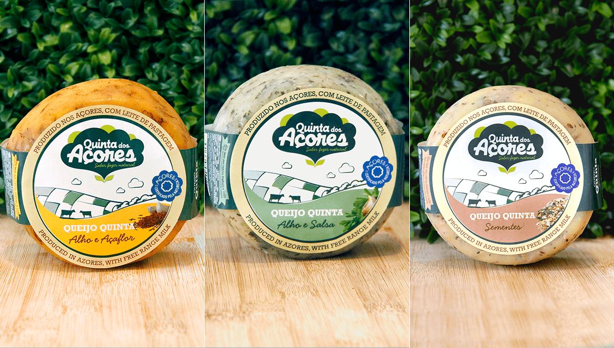 queijos novos quinta dos Açores
