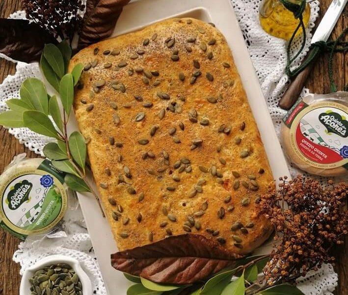 receita de bola de queijos e enchidos