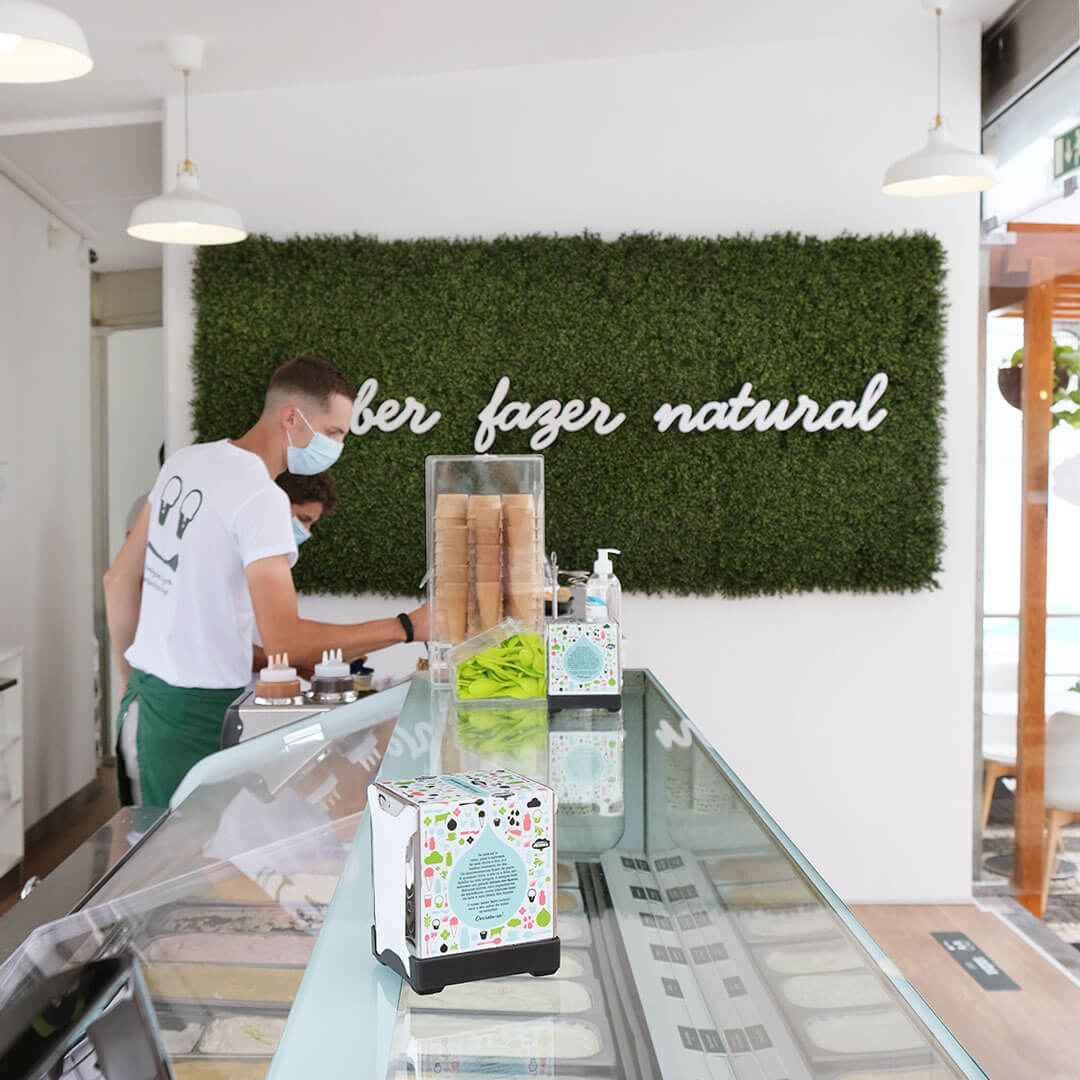 gelados quinta dos açores esplanada loja do gelado